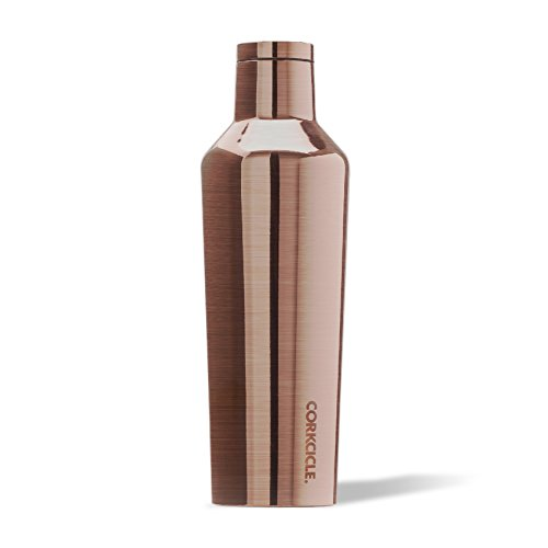Stainless Water Bottle Collection (Corkcicle Canteen Classic Collection - Water Bottle & Thermos - Triple Insulated Shatterproof Stainless Steel, Matte Grey, 16 oz)