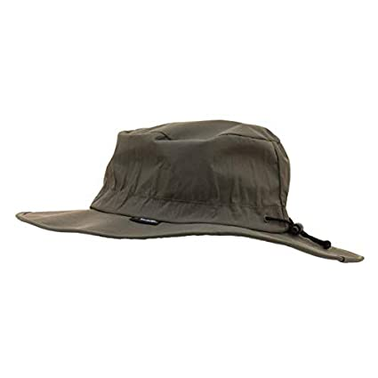 6555a4fc8fa04 Fishing Hats Frogg Toggs Waterproof Breathable Boonie Hat Black Adjustable  Full Throttle FTH103-01