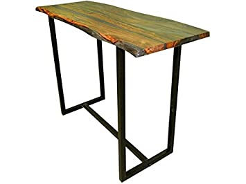 Marvelous Amazon Com Scott Living 182181 Stoneview Live Edge Bar Machost Co Dining Chair Design Ideas Machostcouk