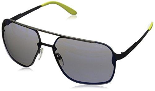 Carrera CA91S Rectangular Sunglasses, Semi Matte Blue, 64 - Sunglasses Carrera 2014