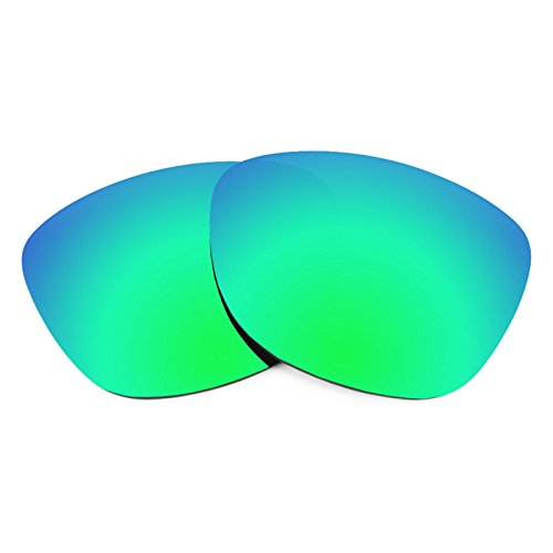 Revant Polarized Replacement Lenses for Oakley Frogskins Emerald Green - Lenses Frogskin Replacement Oakley
