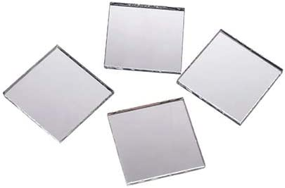 1 inch7 on sale 1 inch Small Glass Square Craft Mirrors Bulk promotion