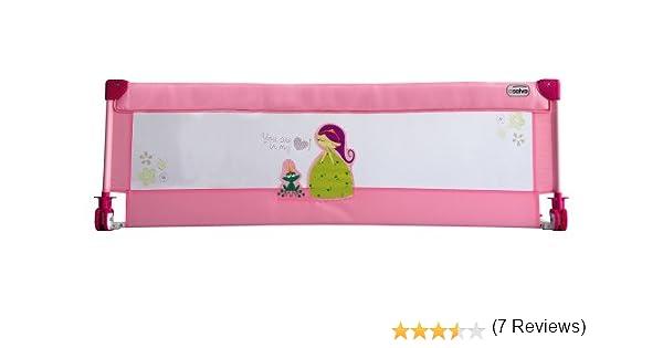 Asalvo 83080 - Barrera de cama con diseño de princesa: Amazon.es: Bebé