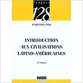 Livres gratuits Introduction aux civilisations latino-américaines pdf, epub ebook