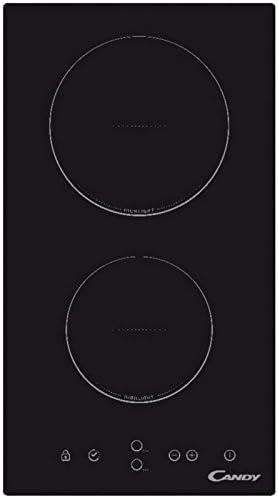 Opinión sobre Candy CDH30 Encimera Vitrocerámica Dominó Integrada, 30 cm, 2 zonas de cocción, 3000 W