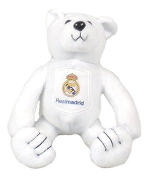 Real Madrid Beanie Oso De Peluche - Regalos Fútbol