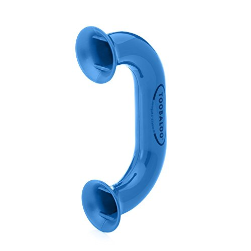 Blue Toobaloo Auditory Feedback Phone - Accelerate Reading Fluency, Comprehension and Pronunciation with a Reading Phone.