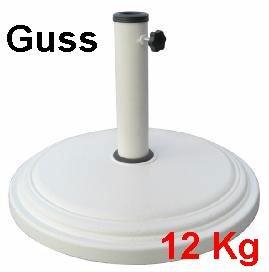 Gut gemocht Amazon.de: Sonnenschirmständer Guss 12 Kg, Sonnenschirm Ständer AC22
