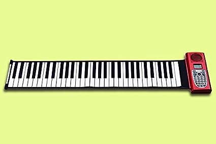 XuBa Kingtoy New Instrumentos Juguetes Musicales 61 Clave Profesional Rollo de Piano