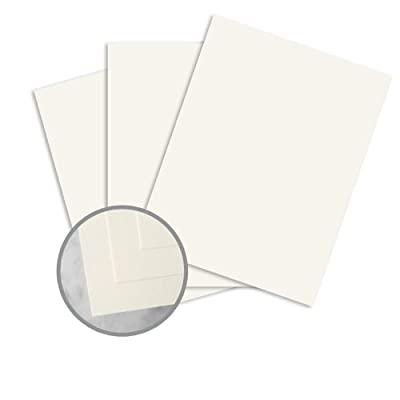 CLASSIC CREST Classic Natural White Paper - 8 1/2 x 11 in 28 lb Writing Super Smooth Watermarked 500 per Ream
