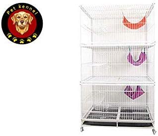 Jaulas para Perros/Jaula para Cachorros Mascota Gato Jaula De ...