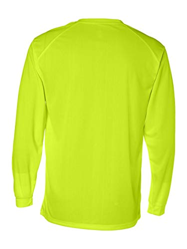 Badger B-Core Long Sleeve T-Shirt XL Safety Yellow
