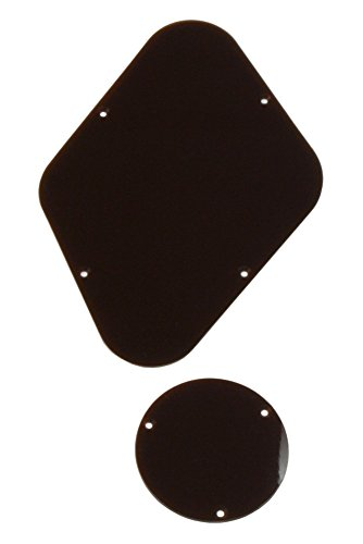 Allparts PG-0814-036 Brown Backplates for Gibson Les Paul (Les Paul Backplate)