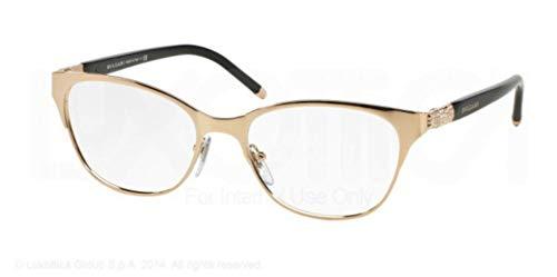 Bulgari for woman bv2167b - 376, Designer Eyeglasses Caliber 53 ()