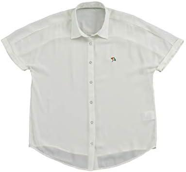 ゴルフウェア 半袖シャツ フルオープン半袖 シャツ AP220301J05