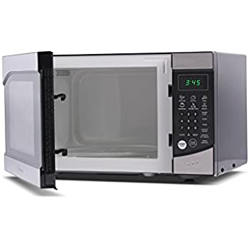 Westinghouse WM009 900 Watt Counter Top Microwave Oven, 0.9 Cubic Feet, Stainless Steel Front