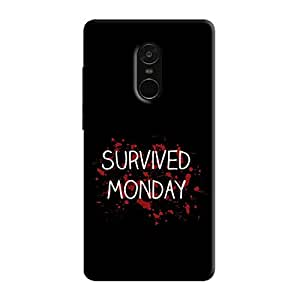 Cover It Up - Monday Survivor Redmi Note 5 Hard Case