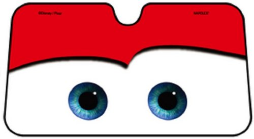 red eyes Disney Pixar Car or Mcqueen Auto long Window Sun Shades Screen block eyes gift