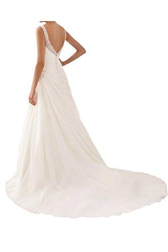 Ange Colonne De Grâce Mariée Dos Ouvert Robe De Mariée Plissée Robe De Mariée Blanche