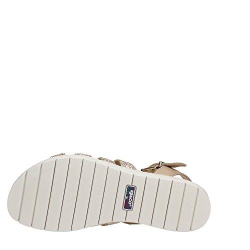 IGI&CO 7810600 sandalo scarpe donna in pelle beige glitter