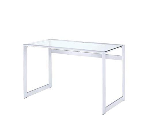 Coaster 800746 CO-800746 Writing Desk, Chrome