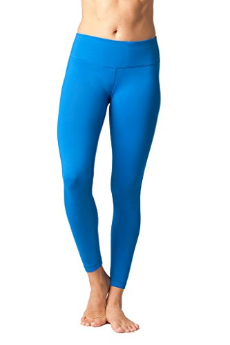 9a645eeb91aef 90 Degree By Reflex Women's Power Flex Yoga Pants - Santorini Blue - Medium