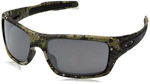 9c4f39aa43e Amazon.com  Oakley Men s Turbine Iridium Rectangular Sunglasses Bare 65.0  mm  Clothing