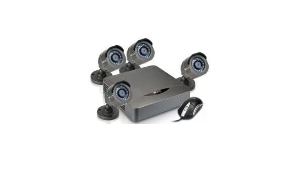 Amazon.com : Nexxt Xpy4004-KX CCTV Kit 4CH w/ 4 Out Cam 700TVL AKD-0454UB : Camera & Photo