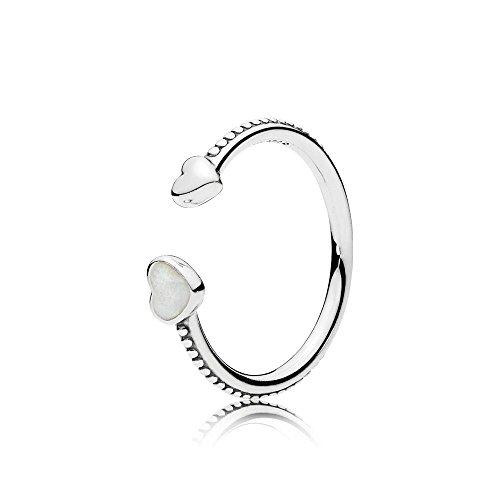 - Pandora Hearts of Love Ring, Silver Enamel 191045EN23-54