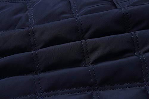 Cappotto Blau Coreana Trapuntata Donna Autunno Bomber Eleganti Giacche Giovane Collo Pilot Invernali Outdoor Manica Giacca Fashion Calda Lunga Casual SZHqwCUA