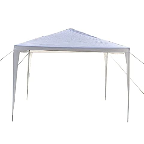 10'x10' Canopy Party Wedding Tent Heavy Duty Gazebo Pavilion Cater Event Outdoor (First Up Screen Curtain)