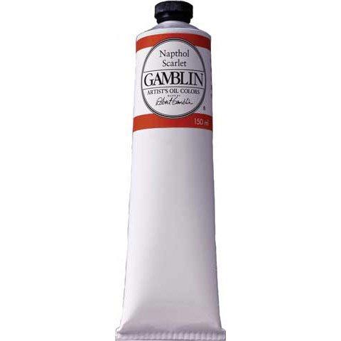 Gamblin - Artist Grade Oil Color - 150ml Jumbo Tube - Cadmium Red Light (Cadmium Red Light Gamblin)