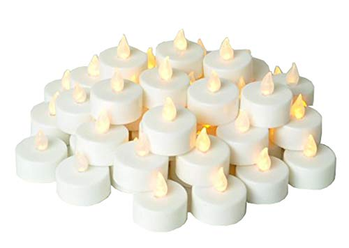 - Instapark LCL Series Battery powered Flameless LED Tealight Candles 4 Dozen Pack