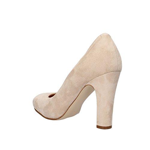 Beige CARMENS Zapatos ante de de para mujer vestir g0Trgwq