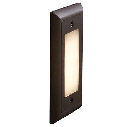 Bruck Lighting 138021wh/3/f - Step 1 LED Step Light - Opal Lens - 3000K - White Finish ()