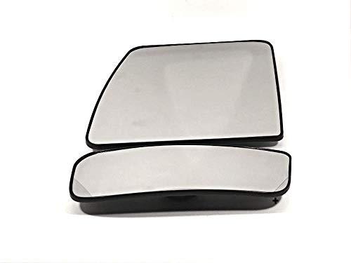 Left Mirror Arm - VAM Fits 12-18 NIS NV1500, NV2500, NV3500 Left Upper/Lower Set Mirror Glass w/Holders Single Arm Non Extending