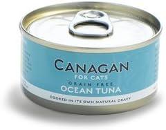 Canagan Cat Cans Ocean Tuna - Lote de 12 latas (75 g): Amazon.es ...