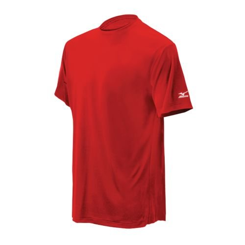Mizuno Men's Mzo G4 Shirt (Red, Small)