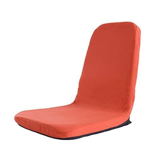 Sofa pequeno Lazy Lounge Plegable Ajustable Silla de Piso Gaming Couch Ligero Portatil con Respaldo Lavado Desmontable