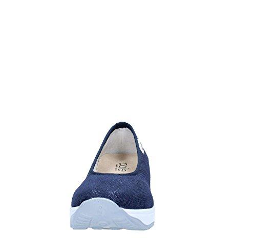 Agile By Rucoline 136 Ballerina Frau Blau