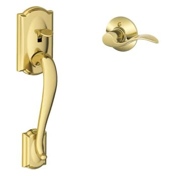 Schlage Lock Company Camelot Front Entry Handle Accent Left-Handed ...