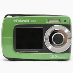 Polaroid IS085 16 Digital Camera with 2.7-Inch LCD (Green)