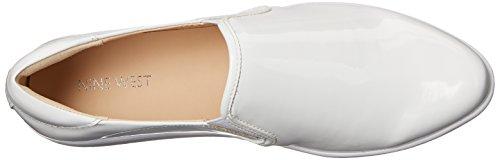 Nine West Lildevil sintético zapatilla de deporte de moda White/white