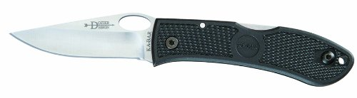 Ka-Bar-Dozier-Folding-Hunter-Knife-with-Hole-Black-Clampack-Slip-Straight-Blade