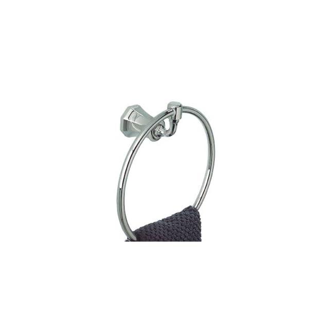 "Thg Paris A54 504NA02 Polished Chrome Bathroom Accessories 7 1/8"" Towel Ring"