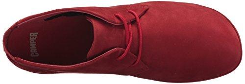 Camper Da Donna Destra Nina K400221 Balletto Rosso Piatto