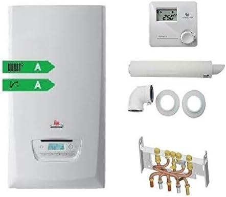 Chaudi/ère /à gaz condensation ThemaFast Condens F 25 Compl/ète SAUNIER DUVAL