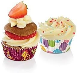 """Tescoma Miniature Baking Cups for Parties """"Delícia"""", Assorted, 4 cm, 100-Piece"""