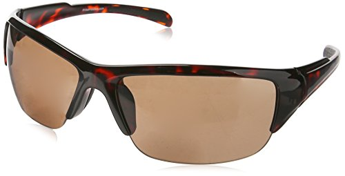 Dr. Dean Edell SLR Sports 1/2 Rim Blade Tortoise Bifocal Reading Sunglass with PC Lens, +2.00, 0.200 - Sunglasses Dean