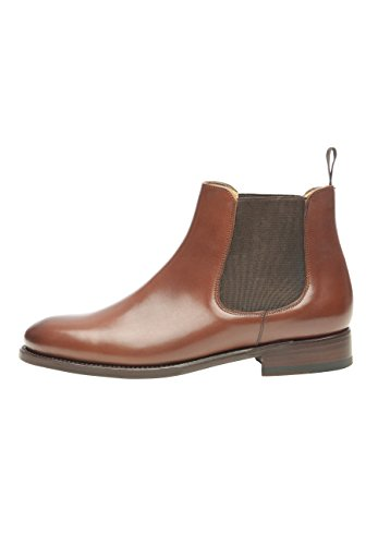 Shoepassion N. 210 Eleganti Scarpe Business-o Casual Per Le Donne. Welted E Fatti A Mano Dalla Pelle Pregiata. Marrone Scuro